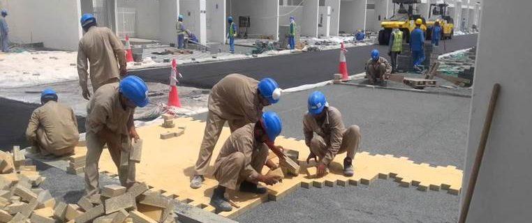 Radisson Blu hotel – Riyadh site work.